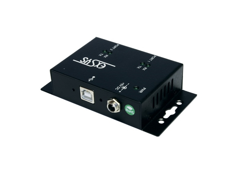 Exsys EX-1332HMV USB to 2xRS232 serial port/high performance UART