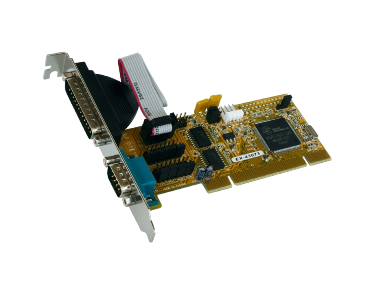 Exsys EX-43073 PCI card to 2xRS232 serial port/high performance