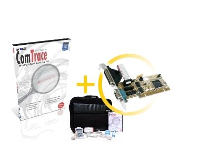 RS232 Analyser [PCI] - Basic set plus 2xRS232 PCI plugin card