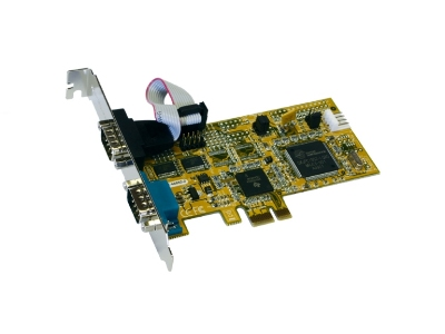 Exsys EX-44092-2 PCIe to 2xRS232 serial port/high performance