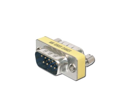 RS232 Gender changer adapter 9/9pin - 2 x male connector (m/m)